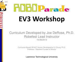 EV3 Workshop