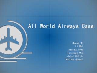 All World Airways Case