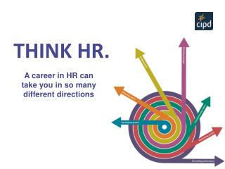 A career in HR can take you in so many different directions