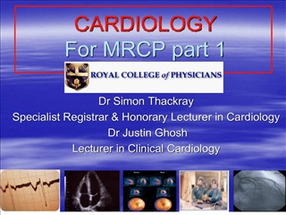 cardiology  for mrcp part 1