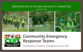 Community Emergency Response Teams