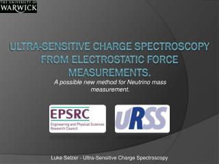 Ultra-sensitive Charge Spectroscopy from Electrostatic Force Measurements.