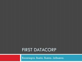 First Datacorp