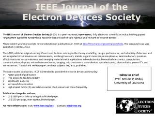 IEEE Journal of the Electron Devices Society