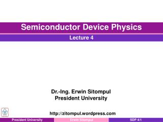 Direct and Indirect Semiconductors