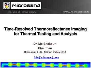 Time-Resolved Thermoreflectance Imaging for Thermal Testing and Analysis