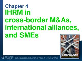 IHRM  in cross-border M&As,  international alliances, and  SMEs