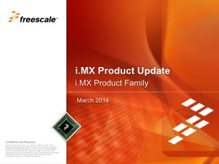 i.MX Product Update
