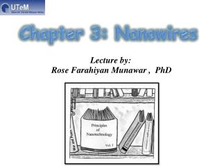 Lecture by: Rose  Farahiyan Munawar  ,  PhD