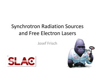 Synchrotron Radiation Sources and Free Electron Lasers