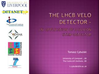 The  LHCb  VELO detector – an application of a Silicon Strip detector