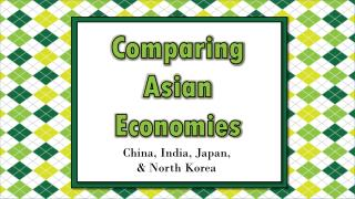 Comparing Asian Economies
