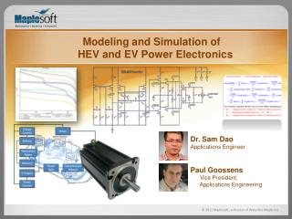 Modeling and Simulation of HEV and EV Power Electronics