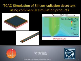 TCAD Simulation of  Silicon radiation  detectors  using  commercial simulation  products