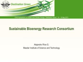 Sustainable Bioenergy Research Consortium