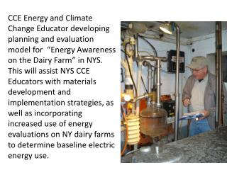 Assist NYS CCE Educators in strategies for hosting successful community field biomass education and media events
