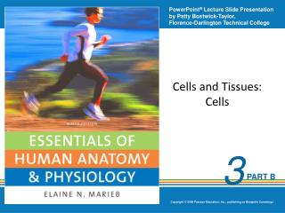 Cells and Tissues: Cells