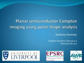 Planar semiconductor Compton imaging using pulse shape analysis