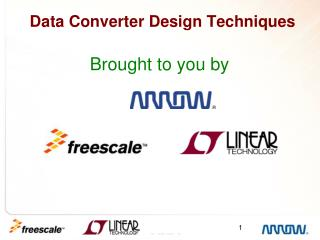 Data Converter Design Techniques