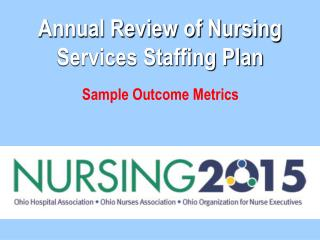 annual review of nursing services staffing plan