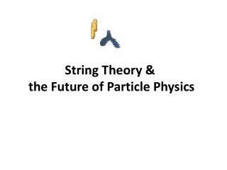 String Theory &  the Future of Particle Physics