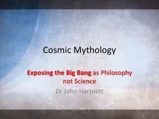 Cosmic Mythology