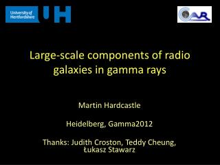 Large-scale components of radio galaxies in gamma rays