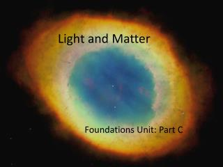 Light and Matter