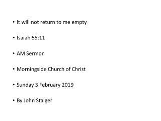 three methods of baptizing: