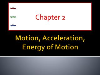 Motion, Acceleration, Energy of Motion
