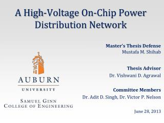 A High-Voltage On-Chip Power Distribution Network