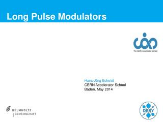 Long Pulse Modulators