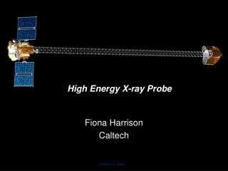 High Energy X-ray Probe