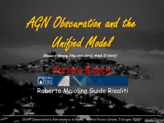 AGN Obscuration and the Unified Model