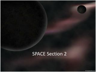 SPACE Section 2