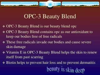 OPC-3 Beauty Blend