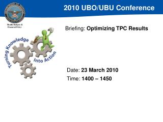 Briefing:  Optimizing TPC Results