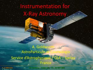 Instrumentation  for X-Ray  Astronomy