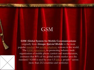Gsm Mobile Service