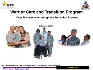 Warrior Care and Transition Program Case Management through the Transition Process