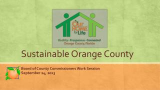Sustainable Orange County