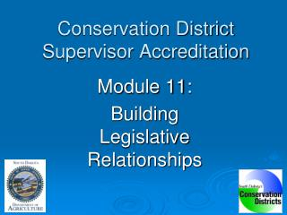 Conservation District Supervisor Accreditation