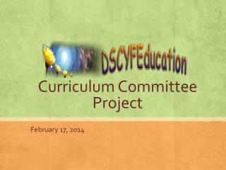 Curriculum Committee Project