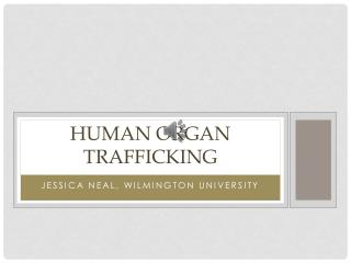 Human Organ Trafficking