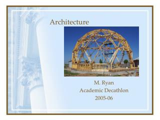 M. Ryan  Academic Decathlon  2005-06