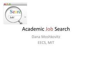 Academic  Job  Search