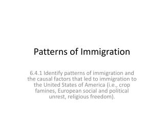 immigration and social identity