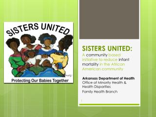 SISTERS UNITED:  A  community  based initiative to reduce  infant mortality  in the African American community