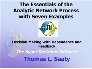 the essentials of the  analytic network process  with seven examples