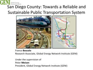 San Diego County: Towards a Reliable and Sustainable Public Transportation System